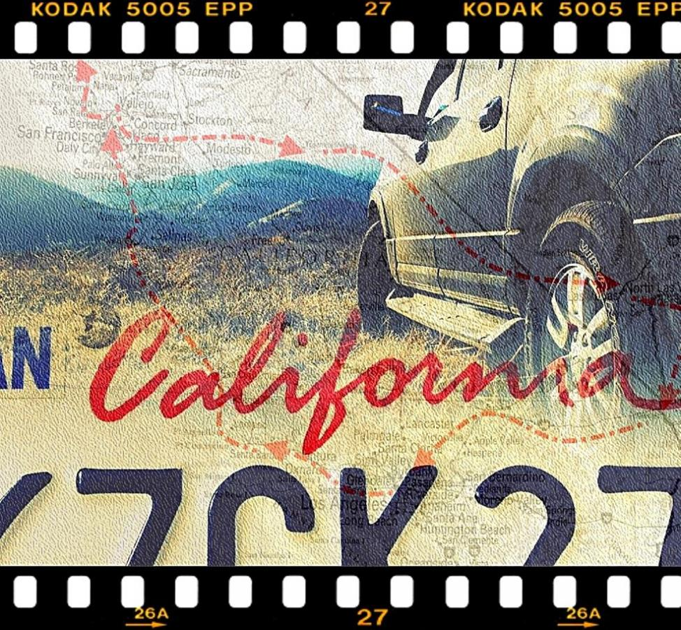 Ein Panzer für alle Fälle - California Driving