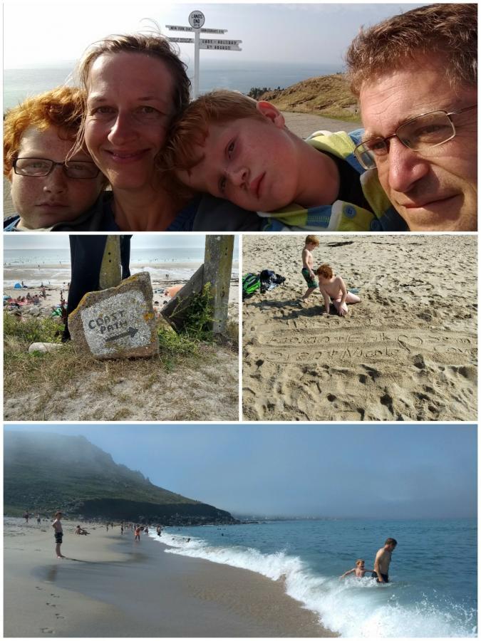 Sennen Cove and Lands End/ day 7 und 8/ Atlantik und Aussichten