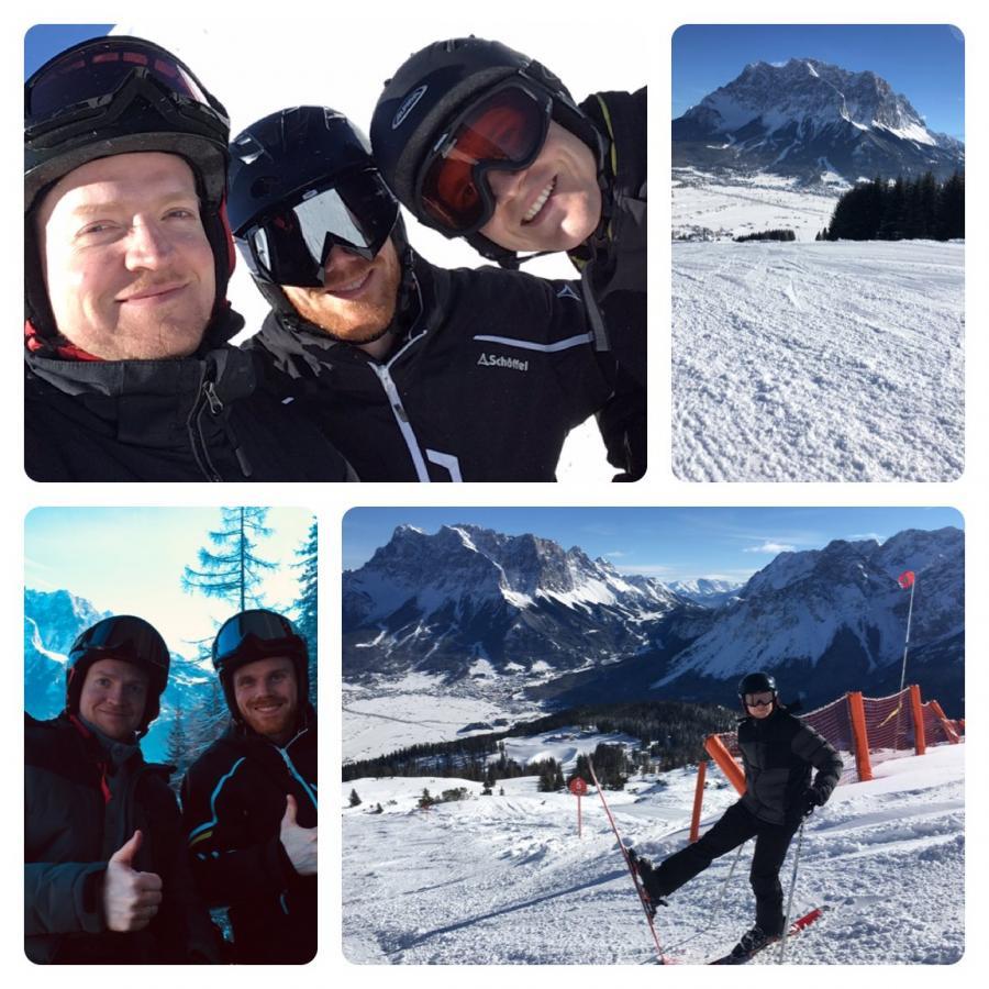Ein Tag im Schnee #Lermoos an der Zugspitze
