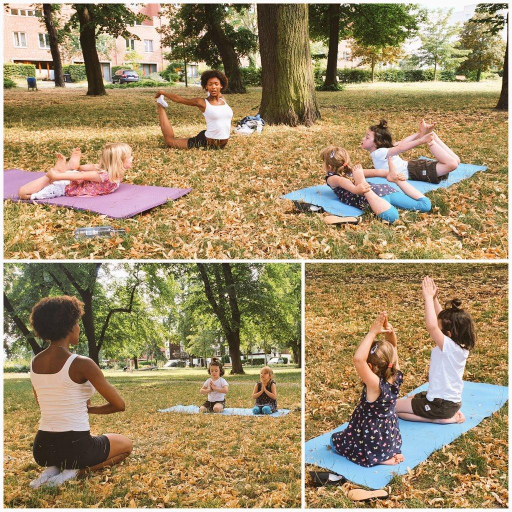 Yuna macht Yoga ...