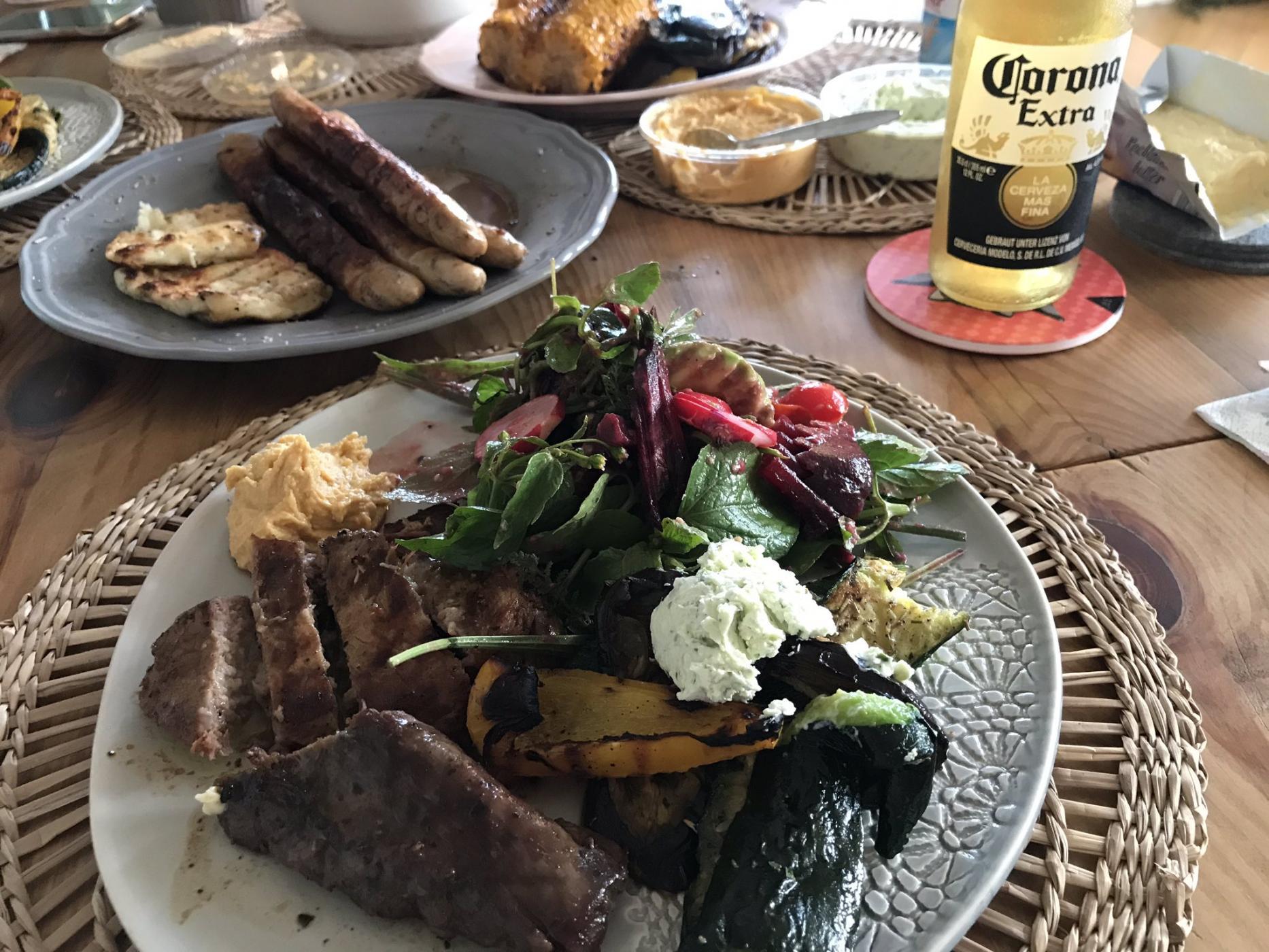 Summertime: mal wieder leckerstes BBQ dinner