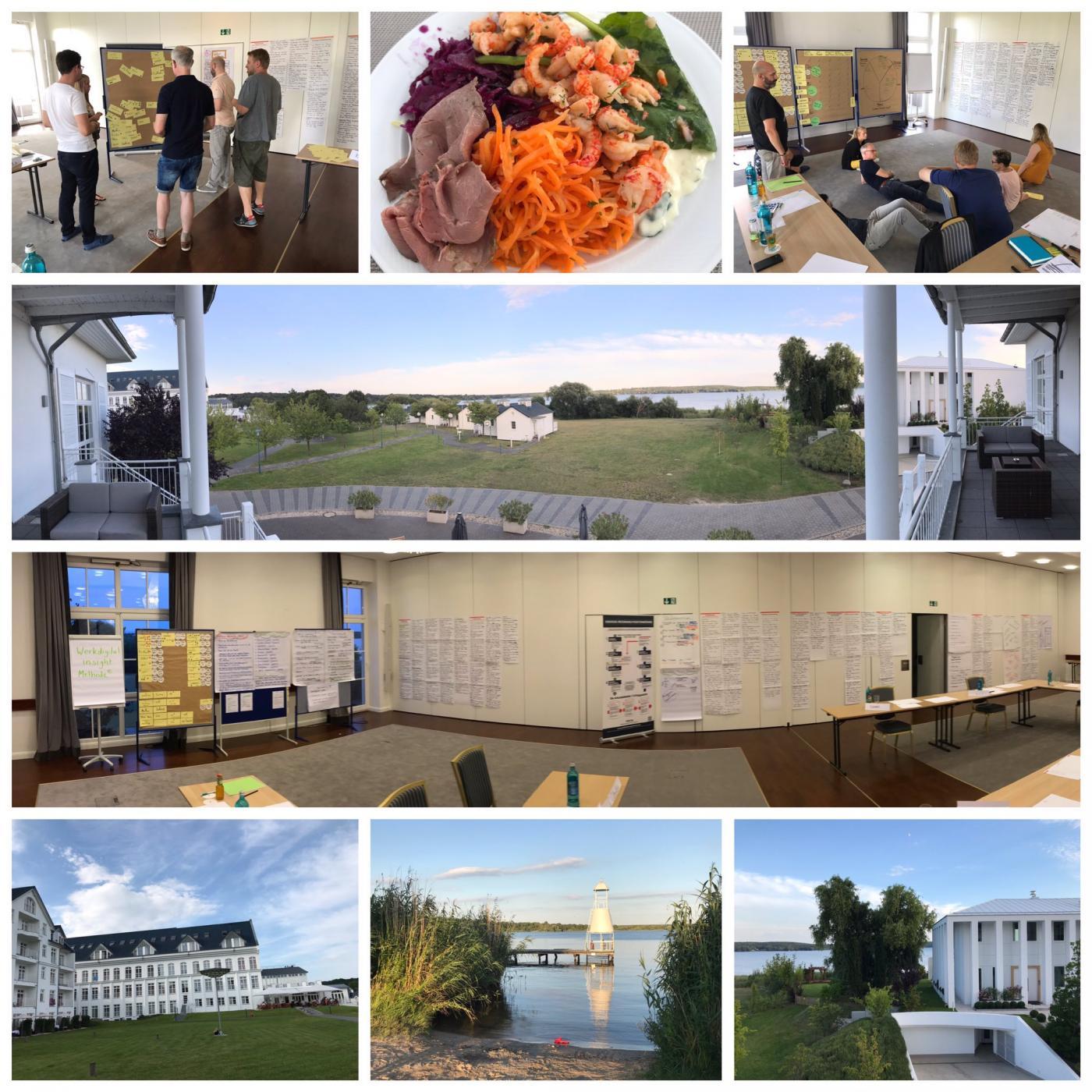 Arbeiten, wo andere Urlaub machen: mitten in 3 Tage WS am Schwielowsee bei Potsdam