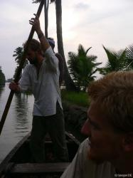 Backwaters: u never paddel alone
