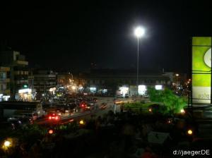 Mysore bei Nacht
