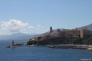 Bastia - wichtigstes Wirtschaftszentrum Korsikas mit 40.000 Einwohnern