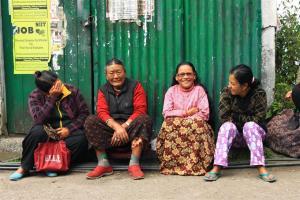 Teekränzchen im Gorkhaland