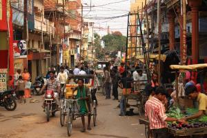 Varagassi- Typisch indische Straßenszene