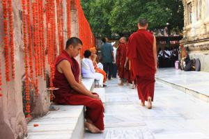 Mantra-Selbstlesung. Gemütliches Gemurmel