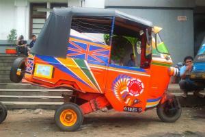 Jakarta-Rikshaw; GrandPrix-fähig