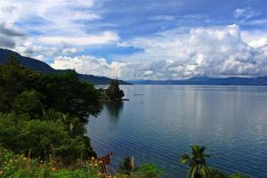 Toba-Lake. 3x größer als der Bodensee