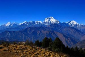 Dhaulagiri (8172m) und Niligiri (7062m)