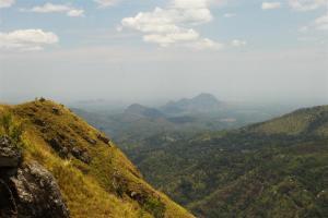 Schau ins Land. Blick vom Little Adams Peak.