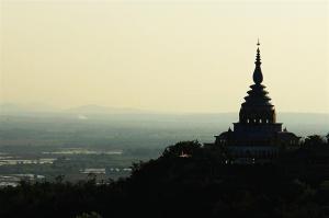 Wat Thaton in der Dämmerung