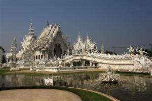 Das weiße Wat. Höllischer Hingucker