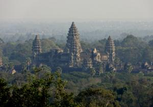 Angkor Wat - das Original (Aussicht vom Phnom Bakong Hügel)