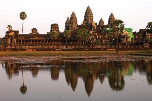 Angkor Wat - trotz (zu) vieler Besucher immer wieder schön
